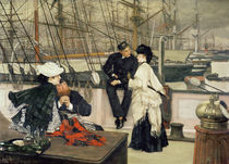 The Captain and the Mate, 1873 von James Jacques Joseph Tissot