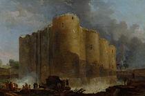 Demolition of the Bastille by Hubert Robert