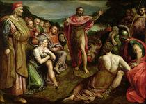 Sermon of St. John the Baptist by Frans I Pourbus