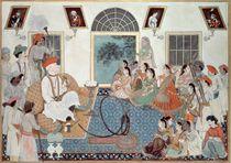 A European, probably Sir David Ochterlony by Indian School