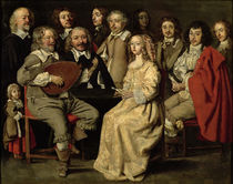 The Musical Reunion, 1642 by Antoine Le Nain