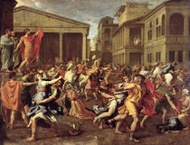 The Rape of the Sabines, c.1637-38 by Nicolas Poussin