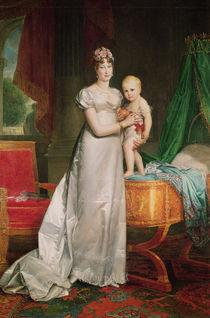 Marie Louise and the King of Rome von Francois Pascal Simon, Baron Gerard