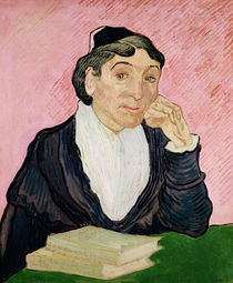 The woman from Arles by Vincent Van Gogh