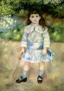 Child with a Whip, 1885 by Pierre-Auguste Renoir