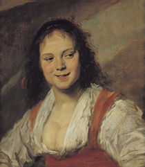 The Gypsy Woman, c.1628-30 by Frans Hals