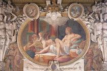 Danae Receiving the Shower of Gold by Francesco Primaticcio