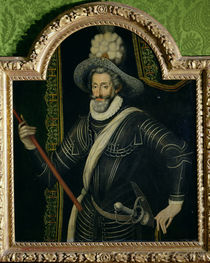 Henri IV King of France and Navarre by French School