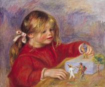 Claude Renoir at Play, 1905 von Pierre-Auguste Renoir