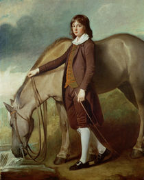 Portrait of John Walter Tempest by George Romney