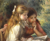 The Reading, c.1890-95 von Pierre-Auguste Renoir