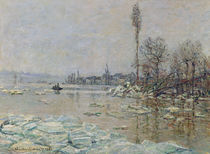 Breakup of Ice, 1880 von Claude Monet