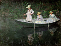 The Boat at Giverny, c.1887 von Claude Monet