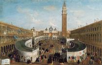 Fair in St. Mark's Square by Gabriele Bella