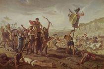 Marius triumphing over the Cimbri von Saverio Altamura