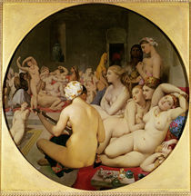 The Turkish Bath, 1863 by Jean Auguste Dominique Ingres