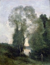 Les Baigneuses von Jean Baptiste Camille Corot