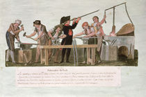 Rifle Makers' Workshop, 1793 by Lesueur Brothers