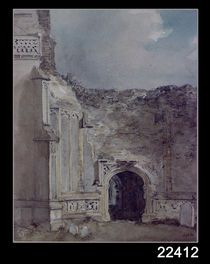 East Bergholt Church: North Archway of the Ruined Tower von John Constable