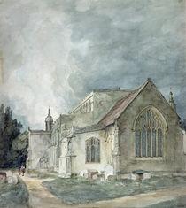 East Bergholt Church, c.1805-11 von John Constable