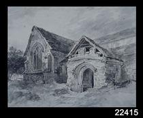 Porch and Transept of a Church von John Constable