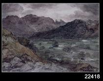 View in Borrowdale von John Constable
