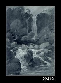 Taylor Ghyll, Sty Head, Borrowdale von John Constable