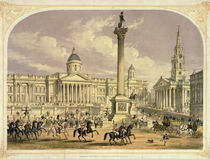 Trafalgar Square, published by the Dickinson Brothers von English School
