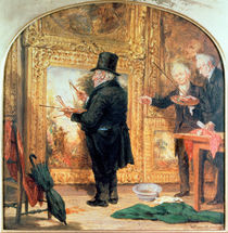 J. M. W.Turner at the Royal Academy by William Parrott