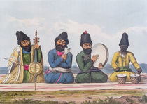 "Persian Musicians from ""A Second Journey through Persia 1810-16"" von James Justinian Morier"