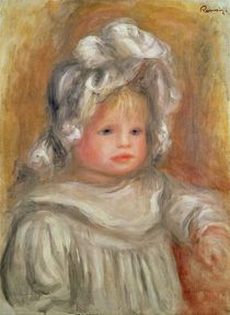Portrait of a Child by Pierre-Auguste Renoir
