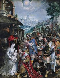 The Adoration of the Magi by Maarten de Vos