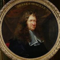 Portrait of Pierre Corneille by Francois Sicre