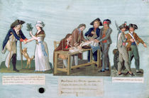 A Woman Promising to Marry her Wounded Suitor after the War von Lesueur Brothers