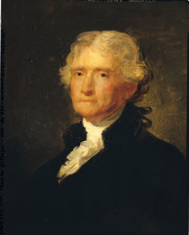 Portrait of Thomas Jefferson by George Peter Alexander Healy