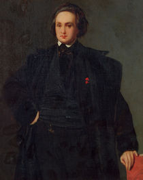 Portrait of Victor Hugo , c.1833 von Louis Boulanger