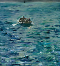 The Escape of Henri de Rochefort 20 March 1874 by Edouard Manet