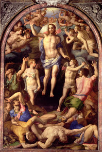 The Resurrection, 1550 by Agnolo Bronzino