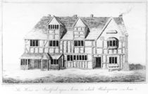 The House in Stratford-upon-Avon in which Shakespeare was Born by R. Greene