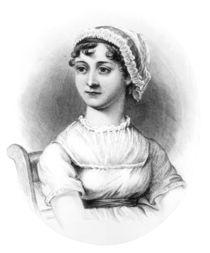 Portrait of Jane Austen by English School
