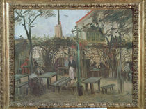 Pleasure Gardens at Montmartre von Vincent Van Gogh