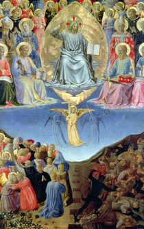 The Last Judgement, central panel from a Triptych by Fra Angelico
