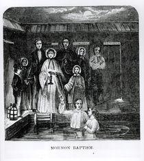 Mormon Baptism by American School