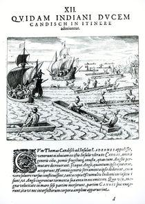 Expedition of Thomas Cavendish von Jacques Le Moyne