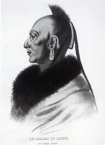 Le Soldat du Chene, an Osage Chief by American School