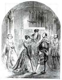 The Private Marriage of Anne Boleyn to Henry VIII in 1533 von English School