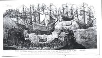 The Embarkation of Henry VIII at Dover von Samuel Hieronymous Grimm