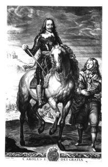 Equestrian portrait of Charles I von Anthony van Dyck