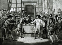 Oliver Cromwell Dissolving the Long Parliament in 1653 by English School