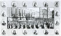 Execution of Charles I at Whitehall von English School